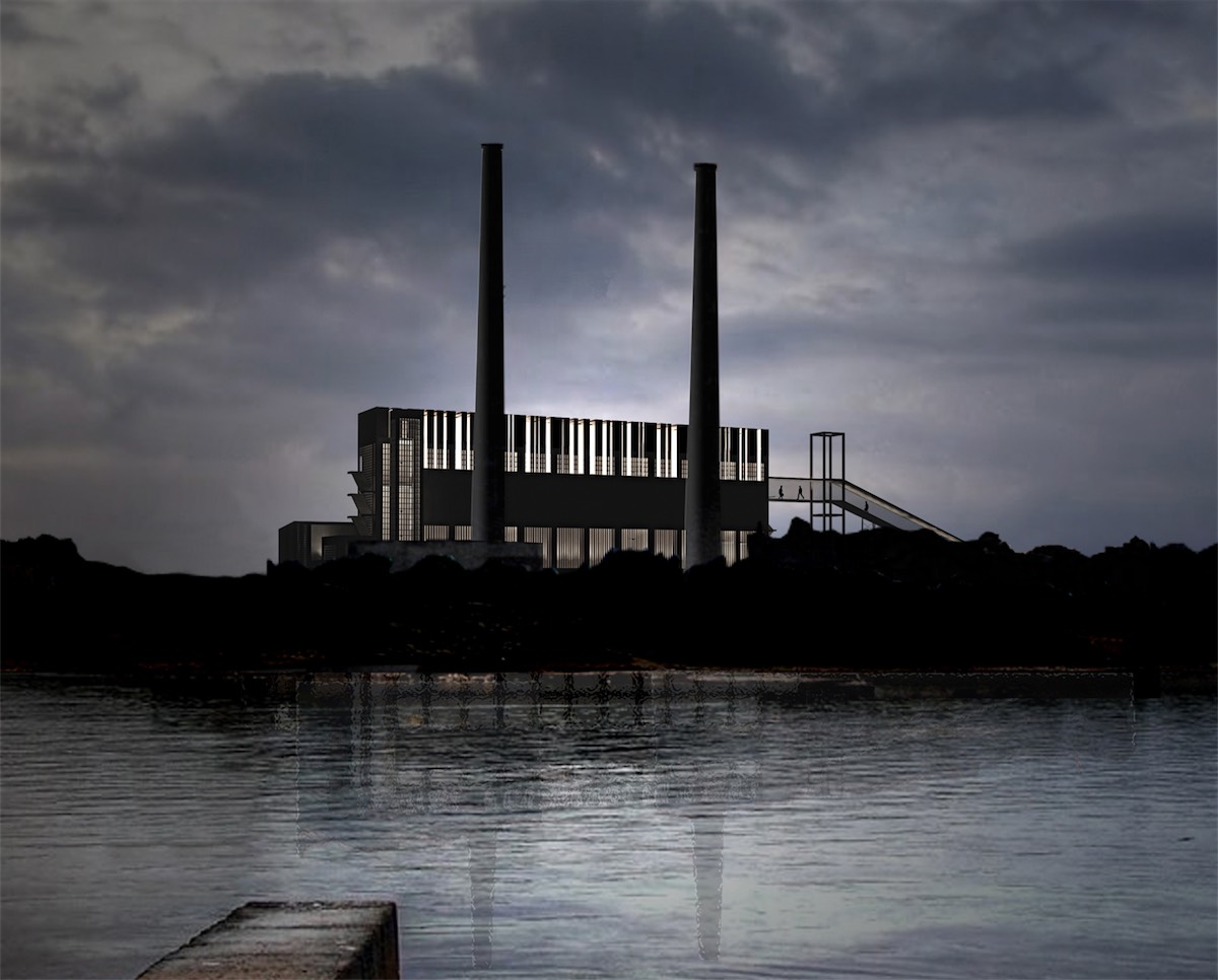 Power Station in Alcudia